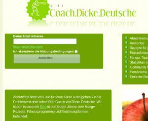 Der Dicke Deutsche Diät Coach