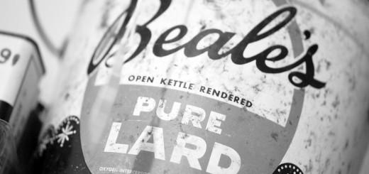 Lard. Pure.